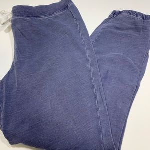 J.Crew Blue Jogger Sweatpants Size Medium